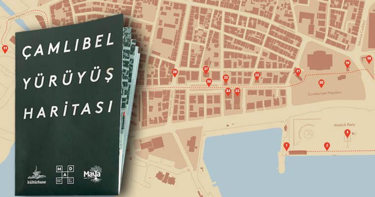 Unutan hafızaların panzehiri Hafıza-i Şehir'den Çamlıbel Yürüyüş Haritası