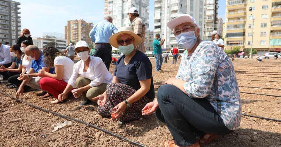 Kadın Üretici Kooperatifi, Mezitli'nin toprağını filizlendiriyor