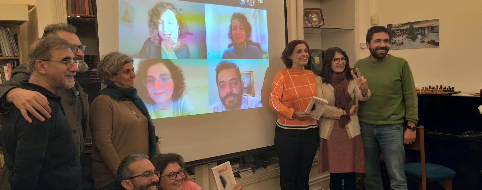 'Hudut Dışı Öyküler'in sürgündeki yazarları Kültürhane'de buluştu