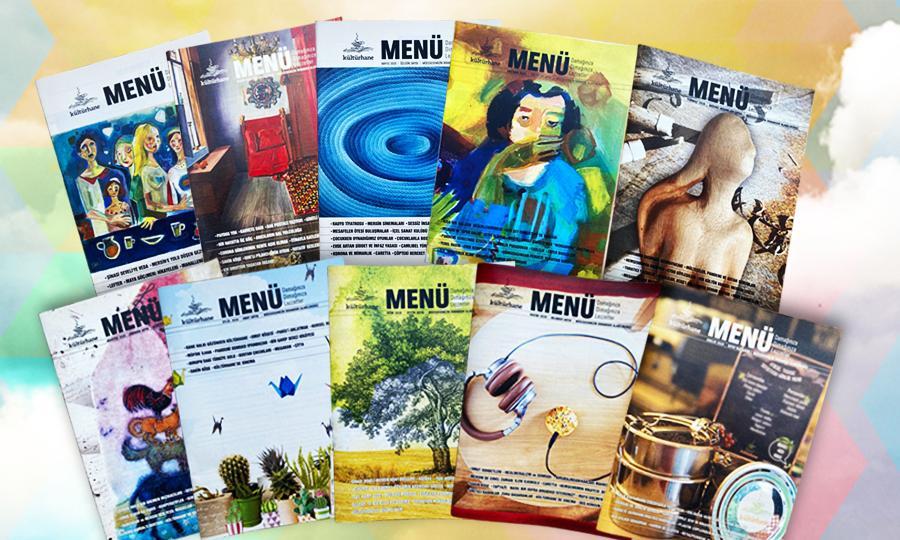 Kültürhane Menü/Dergi (Tüm Sayılar)