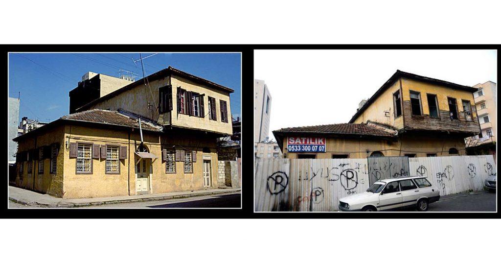 Kokusuyla ve dokusuyla aşık eden Mersin'in yitip giden eski evleri